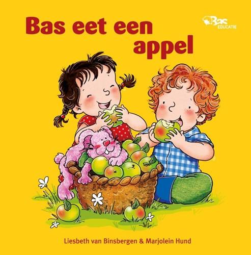 Bas eet een appel (Hardcover)