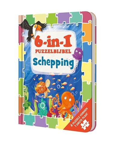 6-in-1 Puzzelbijbel (Hardcover)
