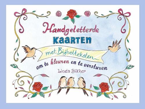 Handgeletterde kaarten met Bijbelteksten (Losse bladen/Geniet)