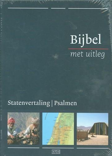 Bijbel met uitleg, blauw, harde band in luxe cassette (Hardcover)