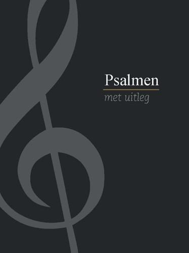 Psalmboek met uitleg (zwart) (Hardcover)
