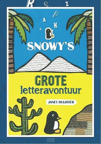 Snowy's grote letteravontuur (Hardcover)