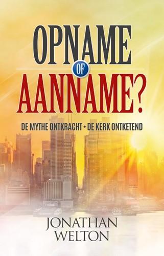 Opname of aanname? (Paperback)