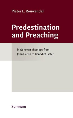 Predestination and Preaching (Hardcover)