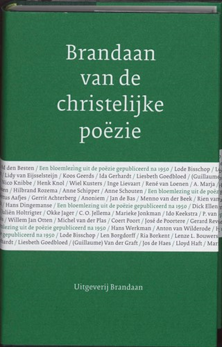 Brandaan van de christelijke poëzie (Hardcover)