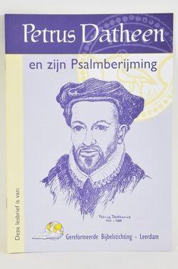 Lesbrief petrus datheen & zijn psalmberijming (Brochure)