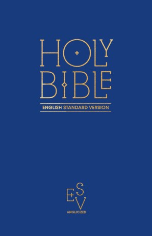 ESV pew bible blue hardcover (Boek)
