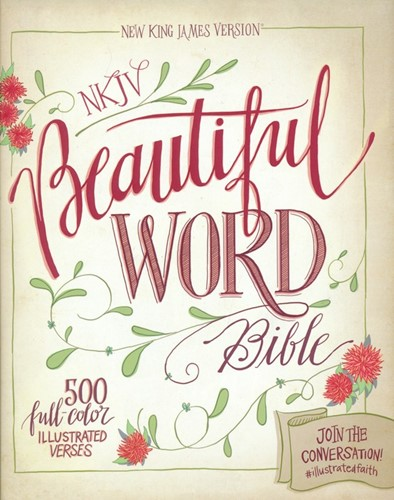 NKJV beautiful word coloring bible (Boek)
