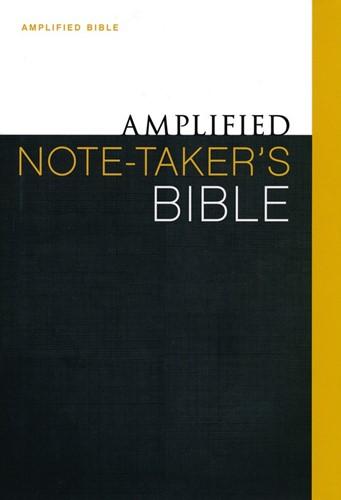 Amplified note-takers bible (Boek)