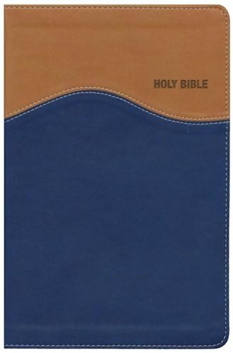 NIV gift bible tan/blue duo tone (Boek)