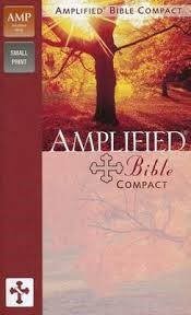 Amplified bible colour hardcover (Boek)