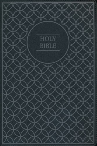 NIV thinline bible black/grey (Boek)