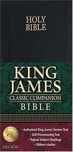 KJV classic compact bible with snap (Boek)