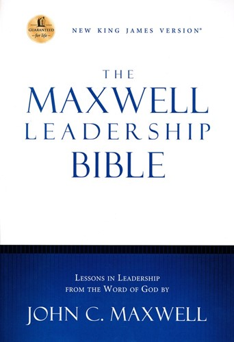 NKJV maxwell leadership bible revised (Boek)