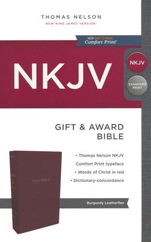 NKJV gift & award bible (Boek)