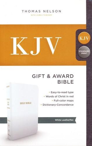 KJV gift & award bible (Leer/Luxe gebonden)