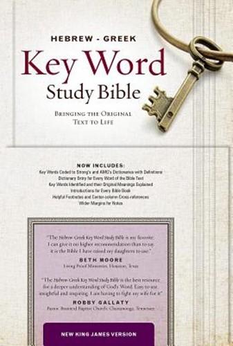 NKJV Hebrew-Greek key word study Bible (Boek)