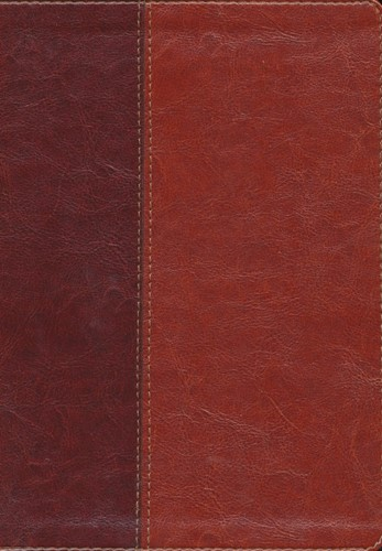 NLT - Sliml. Ref. Bible - Index Brown Ta (Boek)