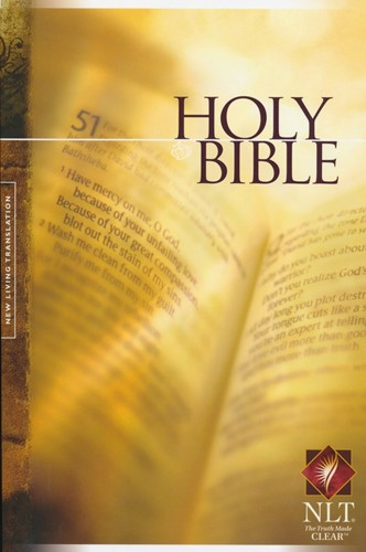 NLT Holy Bible Text Edition,Colour, Pape (Boek)