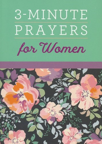 3 minutes prayers for woman (Boek)
