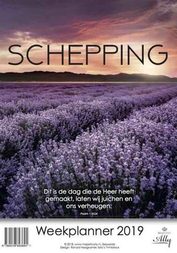 Schepping Weekplanner 2019 (Kalender)