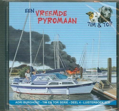 Een vreemde pyromaan - luisterboek (CD)