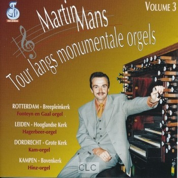 Tour monumentale orgels 3 (CD)