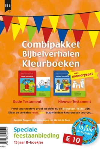 Combipakket Bijbelverhalen Kleurboeken OT en NT (Pakket)