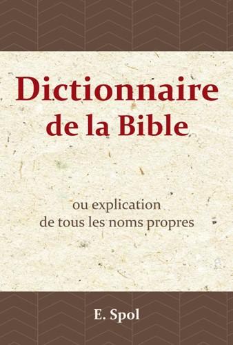 Dictionnaire de la Bible (Paperback)