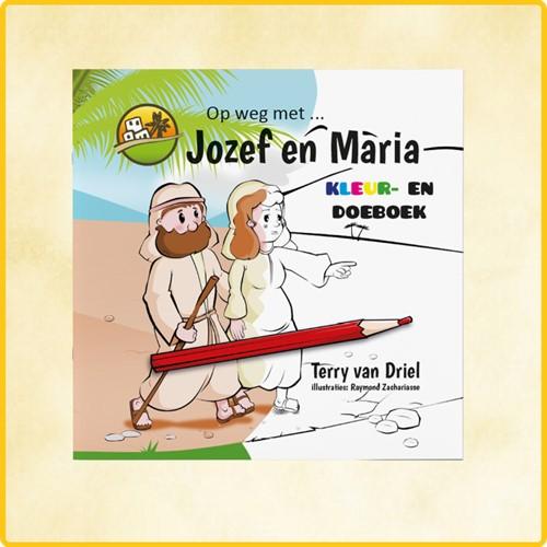 Op weg met Jozef en Maria KLEUR- EN DOEBOEK (Boek)