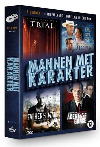 Mannen Met Karakter filmbox (DVD)