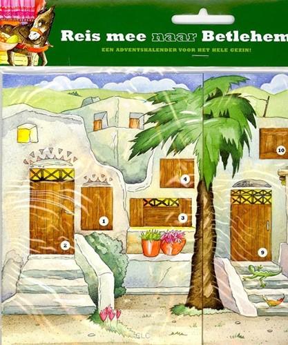 Adventskalender Reis je mee naar Betlehem (Kalender)