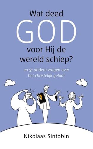Wat deed God voor Hij de wereld schiep? (Hardcover)