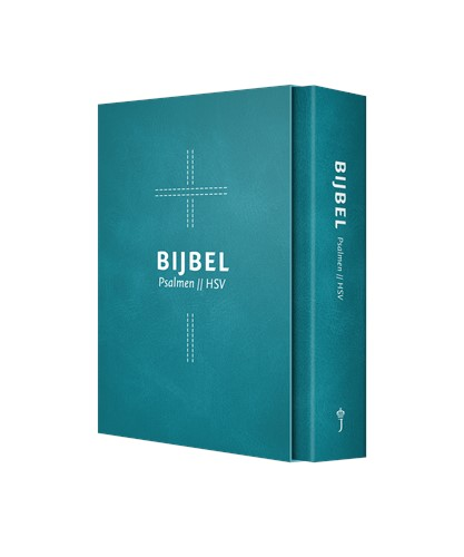 HSV met psalmen blauw dundruk (Hardcover)