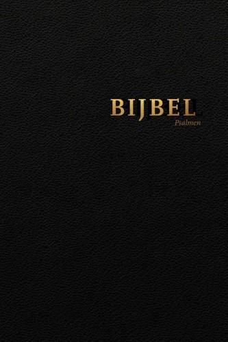 Bijbel (HSV) met Psalmen - vivella zwart met goudsnee (Hardcover)