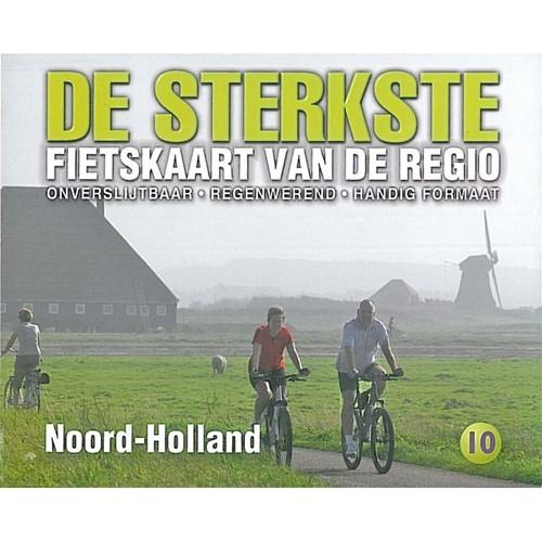 De sterkste fietskaart regio Noord-Holland (Kaartblad)
