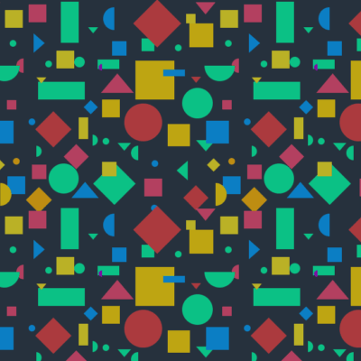 A tiled background.
