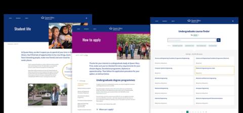 Queen Mary website