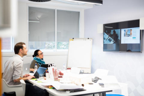 usability testing session with the A2Dominion team