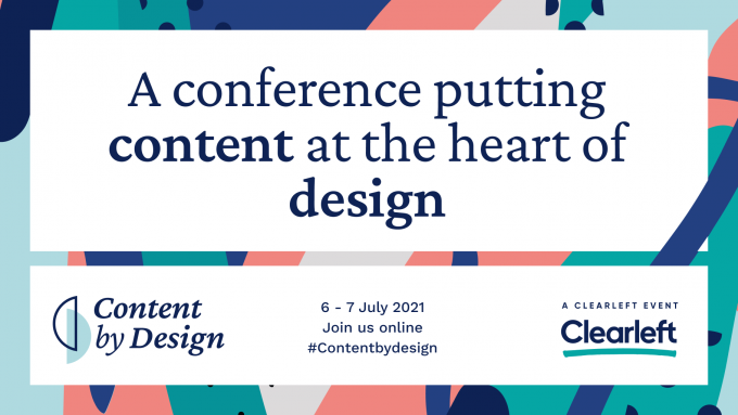 A conference putting content at the heart of design