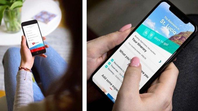 The app in people's hands.