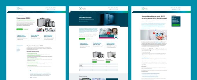 fully functional prototype website