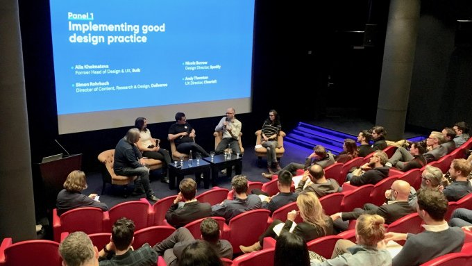 Panel discussion and audience