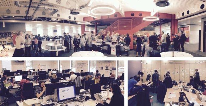 Virgin Holidays teams at work in their office spaces