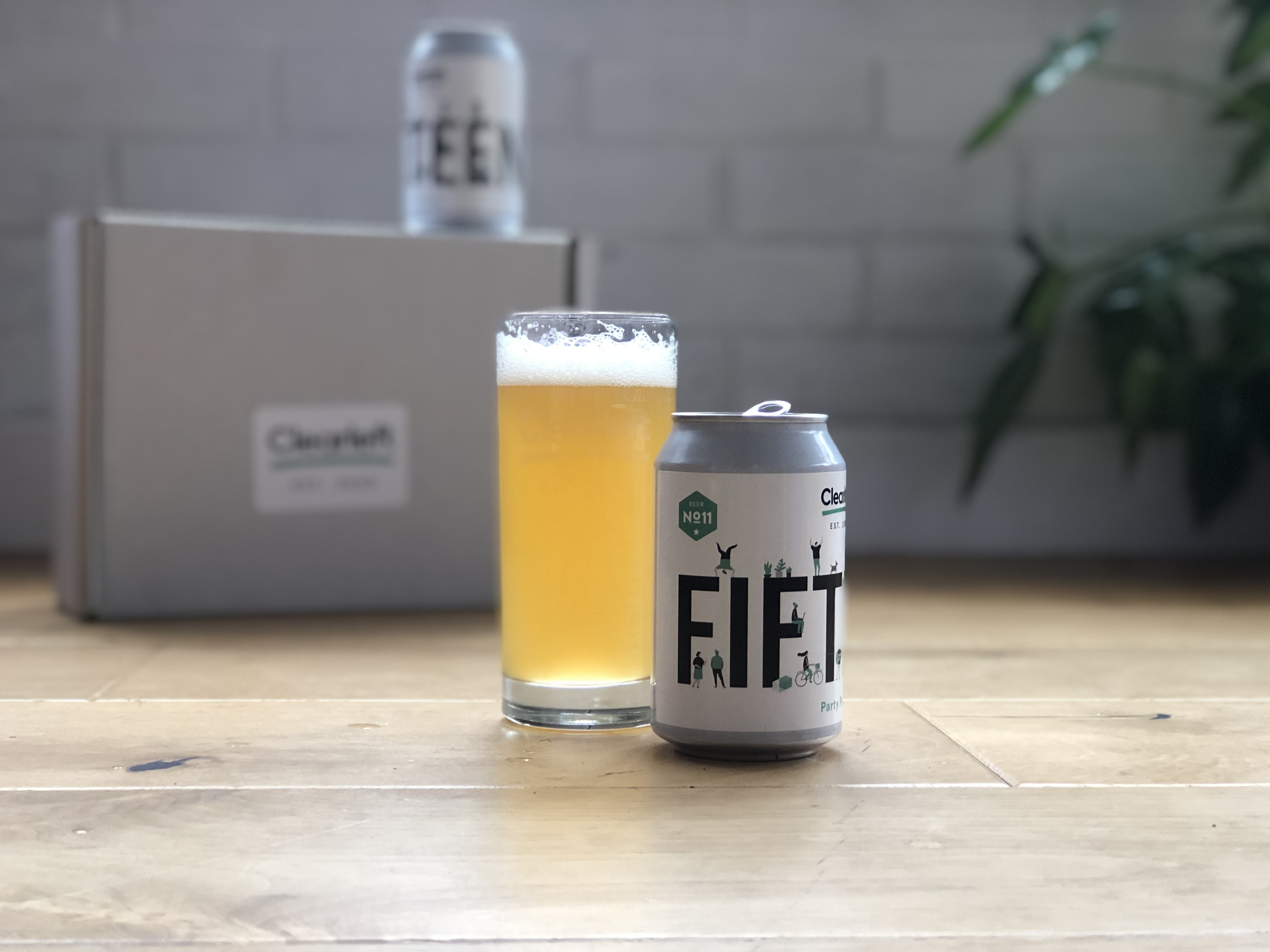 Fifteen years of Clearleft beerleft brew which we sent to all the team to celebrate