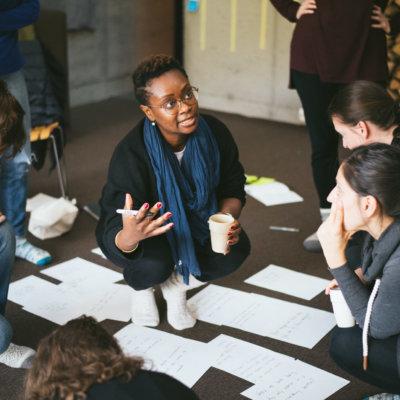 Group of female design leaders