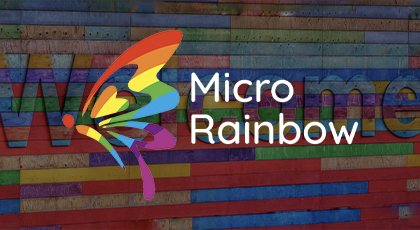 Micro Rainbow logo