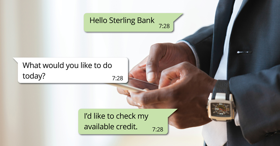 Sterling Bank Leads with Lending, Investing and Credit Rating Features on WhatsApp with Clickatell's Chat Banking Solution