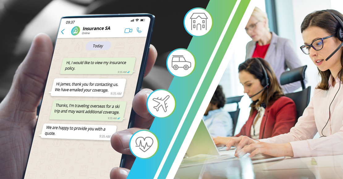 Using Chat to Help Digitize the Insurance Experience