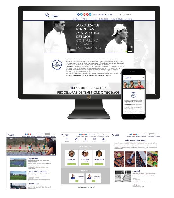 portfolio Rafa Nadal Academy